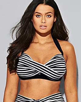Beach to Beach Wrap Detail Bikini Top