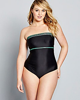 Simply Yours Bandeau Swimsuit