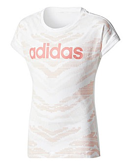 adidas Youth Girls Xcite T-Shirt