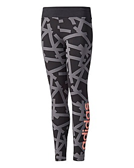adidas Youth Girls Linear Tights
