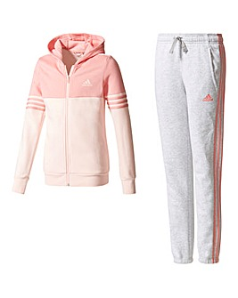 adidas Youth girls Cotton Tracksuit