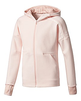 adidas Youth Girls Zone Two Pulse Hoodie