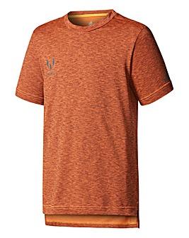 adidas Youth Boys Messi Marl T-Shirt