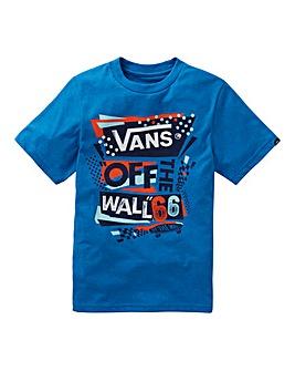 Vans Boys Stencilled T-Shirt