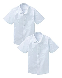 Boys Pack of Two Shirts Generous Fit