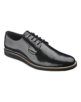 Black Label Hi Shine Formal Shoe Wide