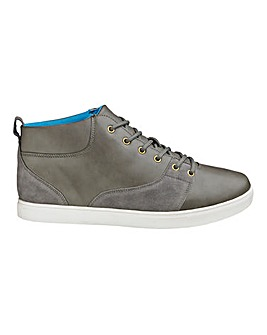 Jacamo Mid Lace-Up Casual Shoes Standard