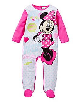 Minnie Mouse Fleece Sleepsuit