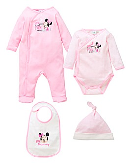 Minnie Mouse Sleepsuit Gift Set