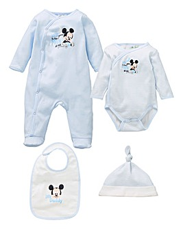 Mickey Mouse Sleepsuit Gift Set