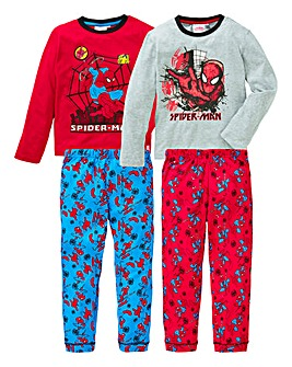 Spider-Man Pack of Two Pyjamas