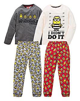 Minions Pack of Two Pyjamas
