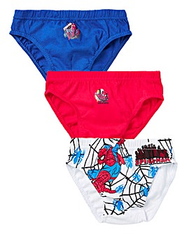 Spiderman Pack of Three Briefs