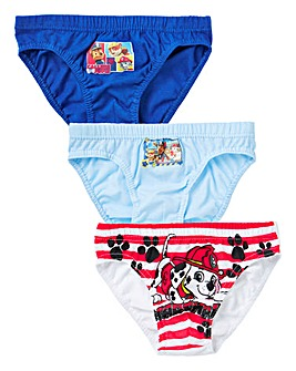 Paw Patrol Pack of Three Briefs