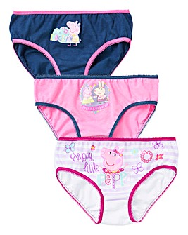 Peppa Pig Pack of Three Knickers