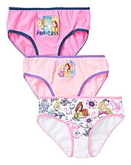 Disney Princess Pack of Three Knickers