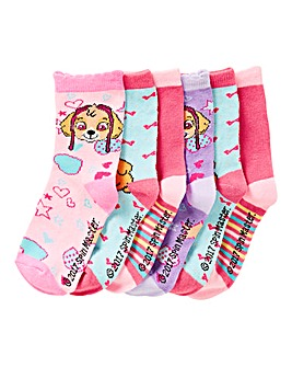 Paw Patrol Pack of Six Socks