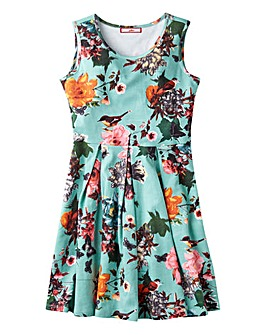 Joe Browns Girls Floral Skater Dress