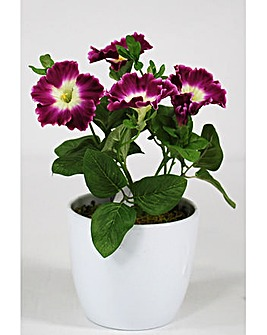 Artificial Plant Potted Petunia