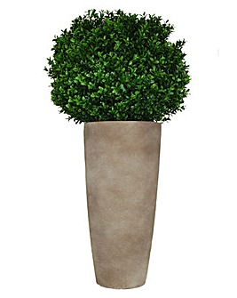 Artificial Topiary Buxus Ball Planter
