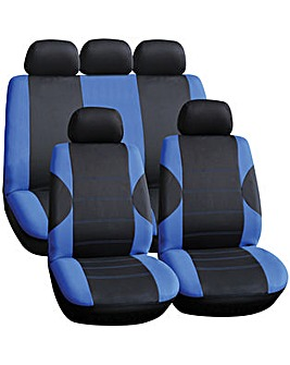 Streetwize Arkansas Blue Seat Cover Set