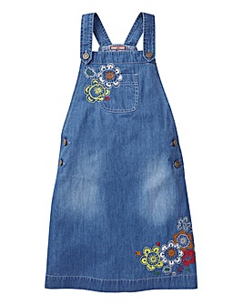 Joe Browns Girls Embroidered Pinafore