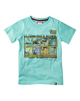 Joe Browns Boys Wave Print T-Shirt
