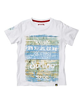 Joe Browns Boys Sun Surfing Print T-Shir