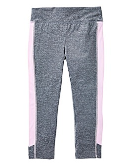 KD Active Girls Grey Capri Pants