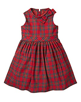 KD Girls Tartan Party Dress