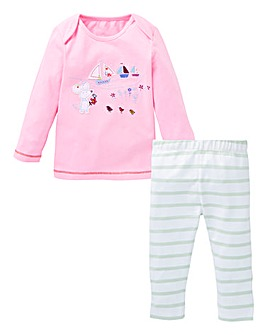 KD Baby Girl Top and Legging Set