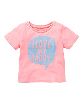 KD Baby Girl Love My Daddy T Shirt