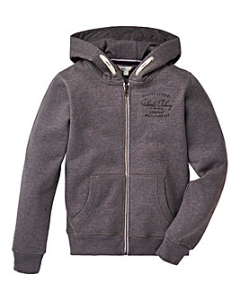 KD Boys Zip Front Hooded Sweatshirt