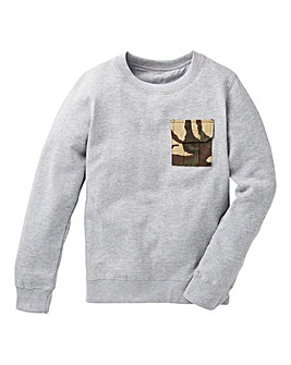 KD Boys Camo Pocket Sweatshirt