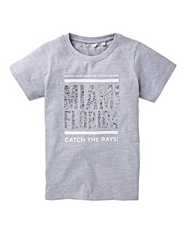 KD Girls Foil Print T-Shirt