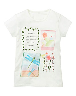 KD Girls Printed T-Shirt