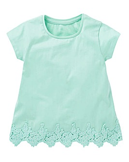 KD Girls Lace Trim T-Shirt