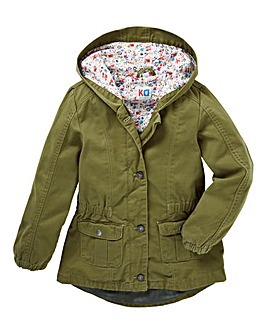 KD Girls Cotton Parka Coat