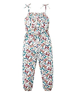 KD Girls Butterfly Print Jumpsuit
