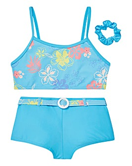 KD Girls Bikini and Scrunchy Set