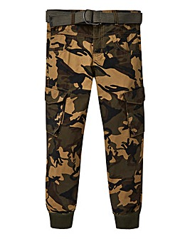 KD Boys Cargo Trouser With Belt