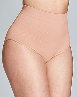 High Waist Medium Control Blush Briefs
