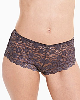 Daisy Lace Charcoal Shorts