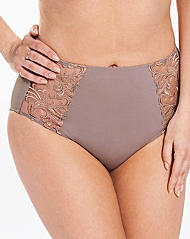 2 Pack Flora Full Fit Grey/Mink Briefs
