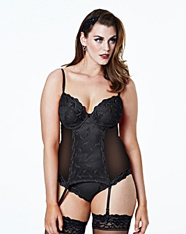Shapely Figures Ava Plunge Basque
