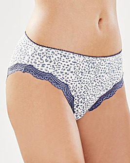 2 Pack Sophie Mid Rise Leopd/Pink Briefs