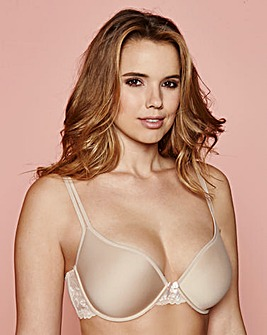 T Shirt Wired Spacer Bra Natural
