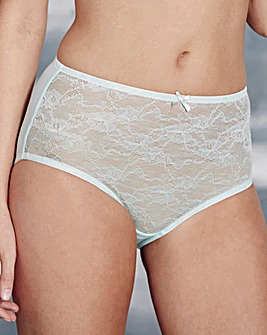 Corded Lace Mint Briefs