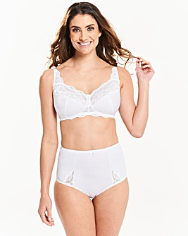 Ruby Non Wired White Bra