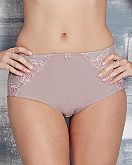 2 Pack Florence Mocha/Pink Briefs